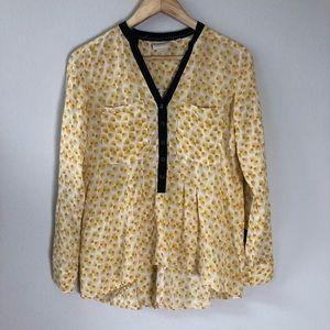 Vanessa Virginia Anthro Shirt Honore Blouse size 2
